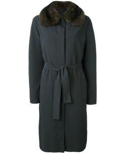 Liska | Пальто С Воротником Из Меха Соболя