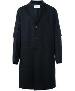 OAMC | Пальто С Простроченной Отделкой