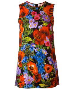 Dolce & Gabbana | Топ С Цветочным Принтом