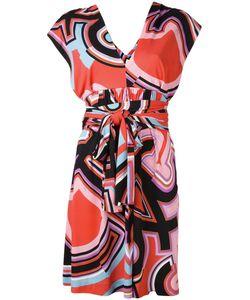 Emilio Pucci | Платье С Абстрактным Принтом