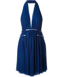 Jay Ahr | Платье С Вырезом-Халтер С Серебристой Отделкой