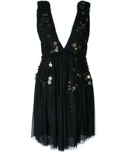 Jay Ahr | Платье С Цветочной Аппликацией