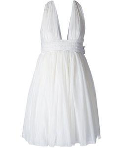 Jay Ahr | Расклешенное Платье С V-Образным Вырезом