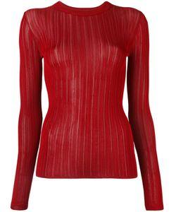 DKNY | Sheer Stripe Jumper