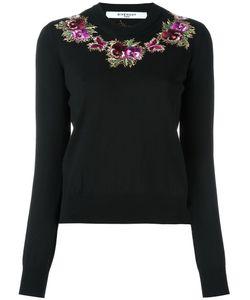 Givenchy | Свитер С Цветочной Вышивкой