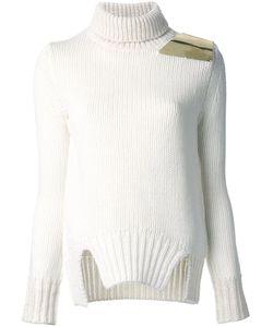 Jay Ahr | Пуловер С Золотистой Заплаткой На Плече