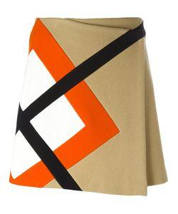 MSGM | Argyle Insert Skirt