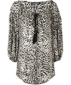 Roberto Cavalli | Блузка С Леопардовым Принтом