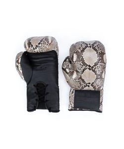 Elisabeth Weinstock | Snakeskin Effect Boxing Gloves