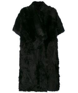 Blancha   Button Up Fur Coat