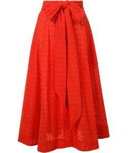 Lisa Marie Fernandez | Bow Detail Pleated Skirt I