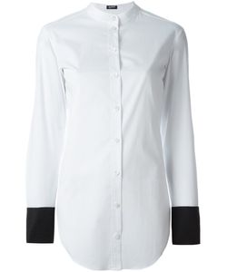 Jil Sander Navy | Contrast Cuffs Shirt