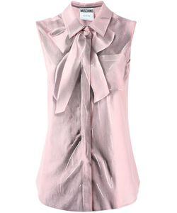 Moschino | Рубашка Без Рукавов С Эффектом Trompe-Lœil
