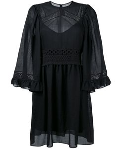 Mcq Alexander Mcqueen | Crochet Detailed Dress 42 Cotton/Polyester/Spandex/Elastane