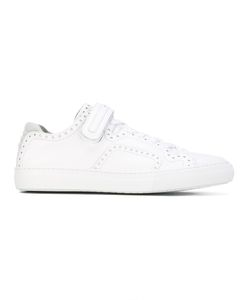 Pierre Hardy | Perforated Lace-Up Sneakers Calf Leather/Leather/Foam