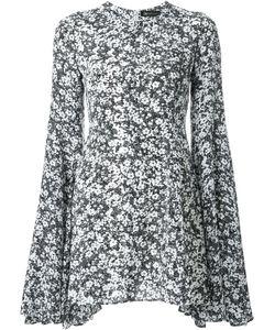 DRESS CAMP | Платье Мини С Цветочным Узором
