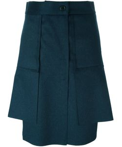 Vivienne Westwood Red Label | Асимметричная Юбка Со Складками
