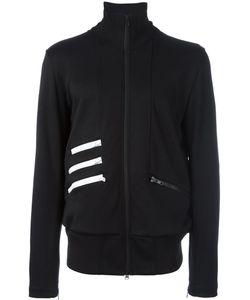 Y-3 | Striped Detail Zipped Sweatshirt