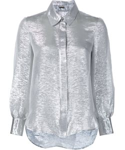 Adam Lippes | Рубашка С Отделкой Металлик