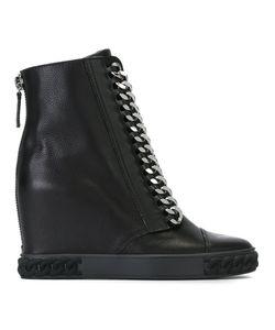 Casadei | Ботинки Sneakers С Цепочной Отделкой
