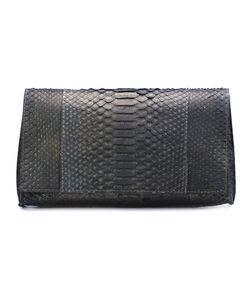 B MAY | Snakeskin Clutch