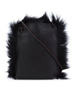 B MAY | Shearling Cross-Body Bag