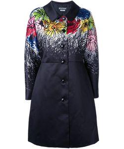 BOUTIQUE MOSCHINO | Пальто С Цветочным Принтом