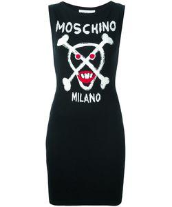 Moschino | Вязаное Платье С Логотипом