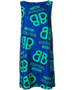BOUTIQUE MOSCHINO | Платье Шифт С Принтом Логотипа
