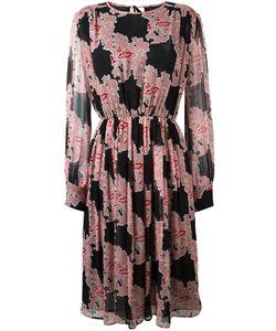 MSGM | Платье С Цветочным Принтом