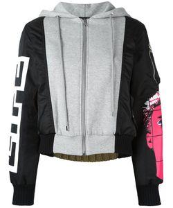 Moschino | Куртка-Бомбер С Панельным Дизайном