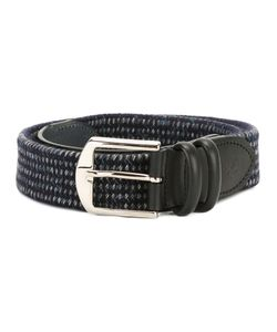 Canali | Woven Buckled Belt