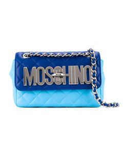Moschino | Стеганая Сумка Через Плечо