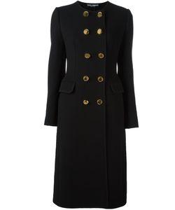 Dolce & Gabbana | Длинное Пальто Без Воротника