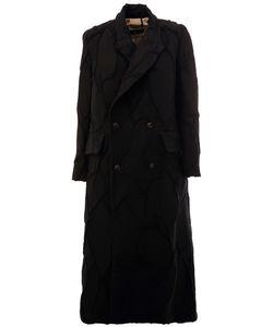 UMA WANG | Однобортное Пальто