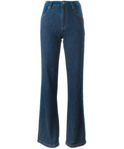 See By Chloe | See By Chloé Stripe Appliqué Flared Jeans