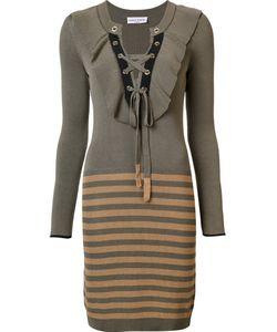 Sonia Rykiel | Вязаное Платье В Полоску