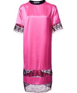 Givenchy | Платье-Футболка С Кружевными Вставками
