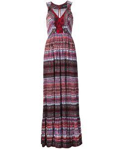Saloni | Платье С Узором В Полоску