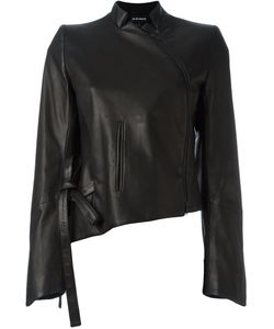 Ann Demeulemeester | Асимметричная Кожаная Куртка