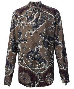 Dolce & Gabbana | Рубашка С Рисунком В Виде Лошадей