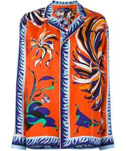 Emilio Pucci | Рубашка С Цветочным Принтом