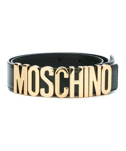 Moschino | Logo Plaque Belt