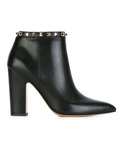 Valentino | Ботинки Rockstud На Каблуке