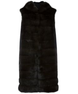 Manzoni 24 | Пальто Из Соболиного Меха Без Рукавов
