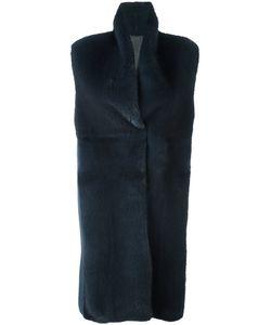 Manzoni 24   Меховое Пальто Без Рукавов
