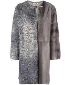 Manzoni 24 | Лоскутное Меховое Пальто
