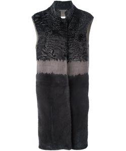 Manzoni 24 | Меховое Пальто Без Рукавов