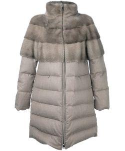 Manzoni 24   Пальто-Пуховик С Высокой Горловиной