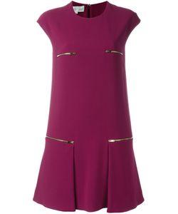 Stella Mccartney | Креповое Платье С Молниями